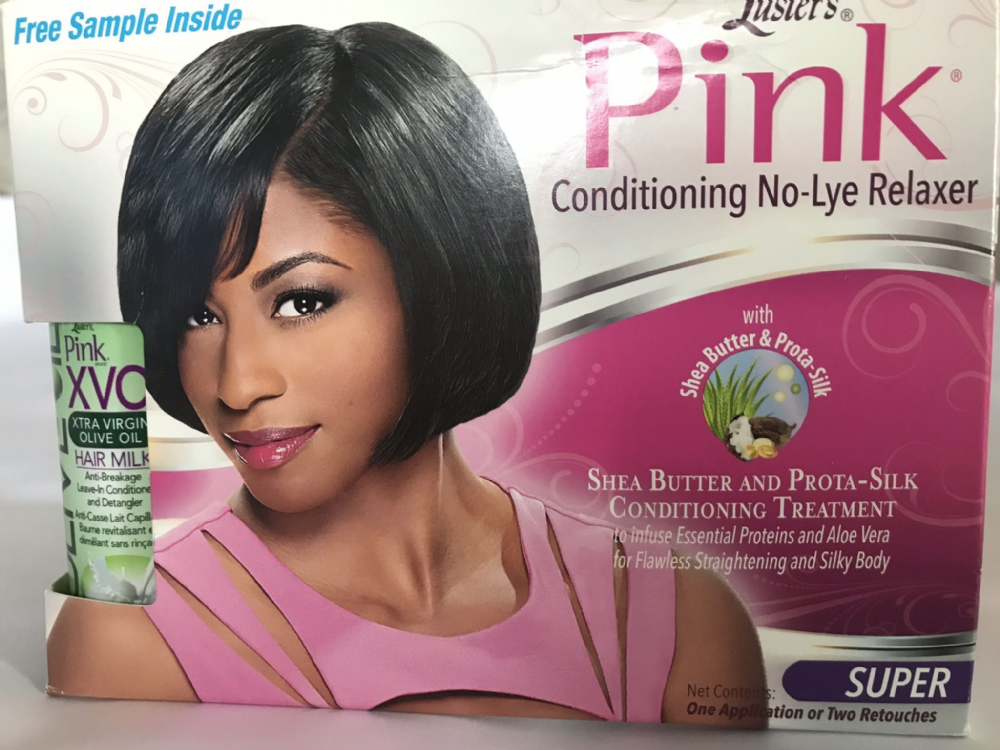 Luster Pink Conditioning  No-Lye Relaxer Super- Plus Free Leave in Conditioner and Detangler